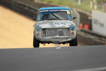 © 2012 Octane Photographic Ltd. HSCC Historic Super Prix - Brands Hatch - 1st July 2012. HSCC - Historic Touring Cars - Qualifying. Pete Wright - Austin A40 Farina. Digital Ref: 0384lw1d1073