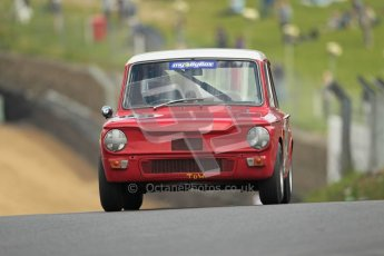 © 2012 Octane Photographic Ltd. HSCC Historic Super Prix - Brands Hatch - 1st July 2012. HSCC - Historic Touring Cars - Qualifying. Adrian Oliver - Hillman Imp. Digital Ref: 0384lw1d1081