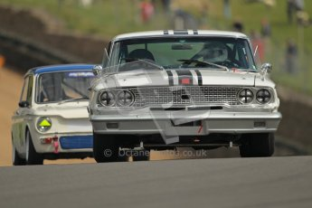 © 2012 Octane Photographic Ltd. HSCC Historic Super Prix - Brands Hatch - 1st July 2012. HSCC - Historic Touring Cars - Qualifying. Richard Owen - Ford Galaxie. Digital Ref: 0384lw1d1114