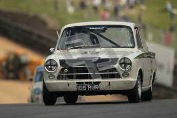 © 2012 Octane Photographic Ltd. HSCC Historic Super Prix - Brands Hatch - 1st July 2012. HSCC - Historic Touring Cars - Qualifying. Jim Clark - Lotus Cortina. Digital Ref: 0384lw1d1148