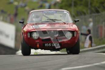 © 2012 Octane Photographic Ltd. HSCC Historic Super Prix - Brands Hatch - 1st July 2012. HSCC - Historic Touring Cars - Qualifying. David Morrow - Alfa Romeo Giulia Sprint. Digital Ref: 0384lw1d1235