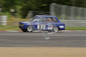 © 2012 Octane Photographic Ltd. HSCC Historic Super Prix - Brands Hatch - 1st July 2012. HSCC - Historic Touring Cars - Qualifying. David Heale - Hillman Imp. Digital Ref: 0384lw7d5397