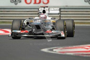 © 2012 Octane Photographic Ltd. Hungarian GP Hungaroring - Sunday 29th July 2012 - F1 Race. Sauber C31 - Kamui Kobayashi. Digital Ref :