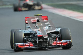 © 2012 Octane Photographic Ltd. Hungarian GP Hungaroring - Sunday 29th July 2012 - F1 Race. McLaren MP4/27 - Lewis Hamilton. Digital Ref :
