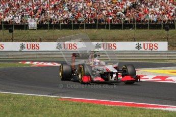 © 2012 Octane Photographic Ltd. Hungarian GP Hungaroring - Sunday 29th July 2012 - F1 Race. HRT F112 - Narain Karthikeyan. Digital Ref :