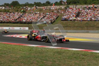 © 2012 Octane Photographic Ltd. Hungarian GP Hungaroring - Sunday 29th July 2012 - F1 Race. McLaren MP4/27 - Jenson Button. Digital Ref :