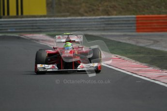 © 2012 Octane Photographic Ltd. Hungarian GP Hungaroring - Sunday 29th July 2012 - F1 Race. Ferrari F2012 - Felipe Massa. Digital Ref :