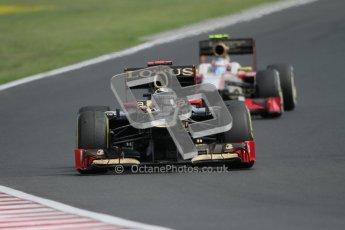 © 2012 Octane Photographic Ltd. Hungarian GP Hungaroring - Sunday 29th July 2012 - F1 Race. Lotus E20 - Kimi Raikkonen. Digital Ref :