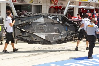 © 2012 Octane Photographic Ltd. Hungarian GP Hungaroring - Friday 27th July 2012 - F1 Practice 1. Mercedes W03 floor pan. Digital Ref : 0425cb40d7732