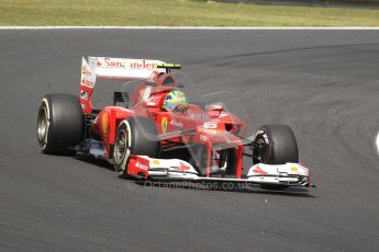 © 2012 Octane Photographic Ltd. Hungarian GP Hungaroring - Friday 27th July 2012 - F1 Practice 1. Ferrari F2012 - Felipe Massa. Digital Ref : 0425cb7d9638