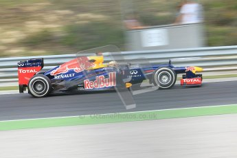 © 2012 Octane Photographic Ltd. Hungarian GP Hungaroring - Friday 27th July 2012 - F1 Practice 1. Red Bull RB8 - Sebastian Vettel. Digital Ref : 0425cb7d9726