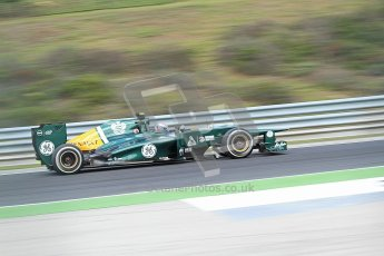 © 2012 Octane Photographic Ltd. Hungarian GP Hungaroring - Friday 27th July 2012. Caterham CT01 - Vitaly Petrov. Digital Ref : 0425cb7d9729