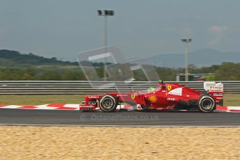 © 2012 Octane Photographic Ltd. Hungarian GP Hungaroring - Friday 27th July 2012 - F1 Practice 1. Ferrari F2012 - Felipe Massa. Digital Ref :