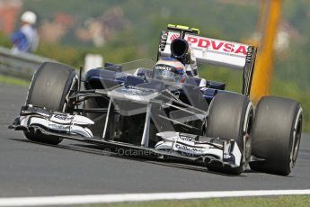 © 2012 Octane Photographic Ltd. Hungarian GP Hungaroring - Friday 27th July 2012 - F1 Practice 1. Williams FW34 - Valtteri Bottas. Digital Ref :