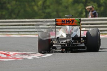 © 2012 Octane Photographic Ltd. Hungarian GP Hungaroring - Friday 27th July 2012 - F1 Practice 1. HRT F112 - Daniel Clos. Digital Ref :