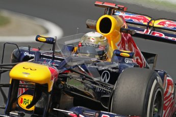 © 2012 Octane Photographic Ltd. Hungarian GP Hungaroring - Friday 27th July 2012 - F1 Practice 1. Red Bull RB8 - Sebastian Vettel. Digital Ref :