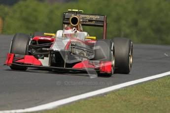 © 2012 Octane Photographic Ltd. Hungarian GP Hungaroring - Friday 27th July 2012 - F1 Practice 1. HRT F112 - Daniel Clos. Digital Ref : 0425lw7d9771
