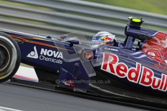 © 2012 Octane Photographic Ltd. Hungarian GP Hungaroring - Friday 27th July 2012 - F1 Practice 1. Toro Rosso STR7 - Jean-Eric Vergne. Digital Ref : 0425lw7d9910