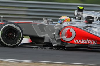 © 2012 Octane Photographic Ltd. Hungarian GP Hungaroring - Friday 27th July 2012 - F1 Practice 1. McLaren MP4/27 - Lewis Hamilton. Digital Ref : 0425lw7d9930