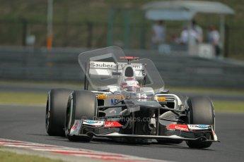 © 2012 Octane Photographic Ltd. Hungarian GP Hungaroring - Saturday 28th July 2012 - F1 Practice 3. Sauber C31 - Kamui Kobayashi. Digital Ref : 0429lw1d6724