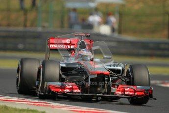 © 2012 Octane Photographic Ltd. Hungarian GP Hungaroring - Saturday 28th July 2012 - F1 Practice 3. McLaren MP4/27 - Jenson Button. Digital Ref : 0429lw1d6763