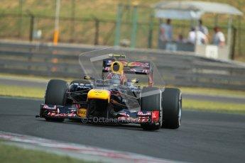© 2012 Octane Photographic Ltd. Hungarian GP Hungaroring - Saturday 28th July 2012 - F1 Practice 3. Red Bull RB8 - Mark Webber. Digital Ref : 0429lw1d6780