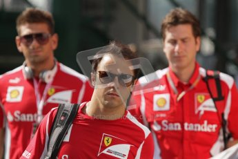© 2012 Octane Photographic Ltd. Hungarian GP Hungaroring - Saturday 28th July 2012 - F1 Practice 3. Ferrari F2012 - Felipe Massa. Digital Ref : 0429lw7d5973