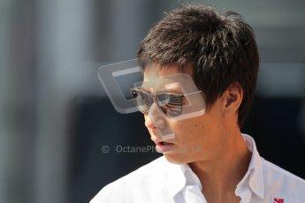 © 2012 Octane Photographic Ltd. Hungarian GP Hungaroring - Sunday 29th July 2012 - F1 Paddock. Sauber - Kamui Kobayashi. Digital Ref : 0437lw1d7596