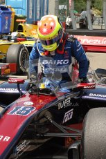 © 2012 Octane Photographic Ltd. Hungarian GP Hungaroring - Friday 27th July 2012 - GP2 Practice - Venezuela GP Lazarus - Sergio Canamasas. Digital Ref : 0426cb7d7784