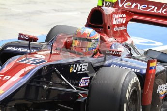 © 2012 Octane Photographic Ltd. Hungarian GP Hungaroring - Friday 27th July 2012 - GP2 Practice - Venezuela GP Lazarus - Giancarlo Serenelli. Digital Ref : 0426cb7d9936