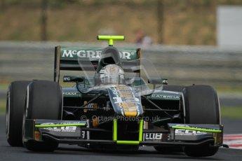 © 2012 Octane Photographic Ltd. EHungarian GP Hungaroring - Friday 27th July 2012 - GP2 Practice - Caterham Racing - Giedo van der Garde. Digital Ref : 0426lw7d0687