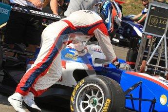 © 2012 Octane Photographic Ltd. Hungarian GP Hungaroring - Saturday 27th July 2012 - GP3 Paddock. Jenzer Motorsport - Patric Niederhauser. Digital Ref : 0424cb7d9528