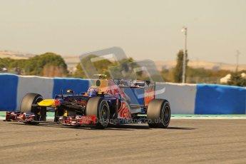© 2012 Octane Photographic Ltd. Jerez Winter Test Day 1 - Tuesday 7th February 2012. Red Bull RB8 - Mark Webber. Digital Ref : 0217lw7d4501