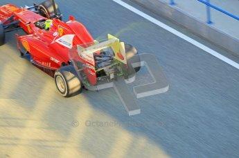 © 2012 Octane Photographic Ltd. Jerez Winter Test Day 2 - Wednesday 8th February 2012. Ferrari F2012 - Felipe Massa. Digital Ref : 0218lw1d5137