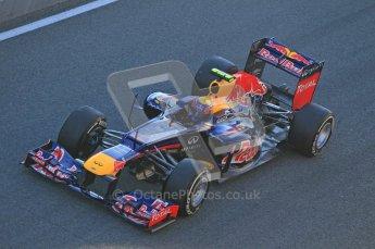 © 2012 Octane Photographic Ltd. Jerez Winter Test Day 2 - Wednesday 8th February 2012. Red Bull RB8 - Mark Webber. Digital Ref : 0218lw1d5144