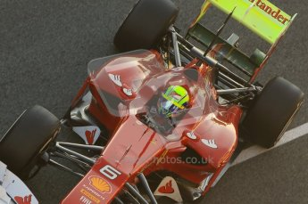 © 2012 Octane Photographic Ltd. Jerez Winter Test Day 2 - Wednesday 8th February 2012. Ferrari F2012 - Felipe Massa. Digital Ref : 0218lw1d5189