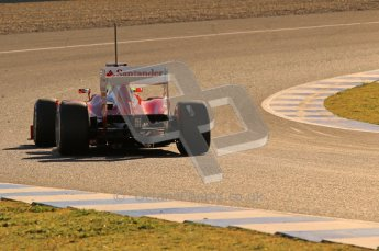 © 2012 Octane Photographic Ltd. Jerez Winter Test Day 2 - Wednesday 8th February 2012. Ferrari F2012 - Felipe Massa. Digital Ref : 0218lw1d5746