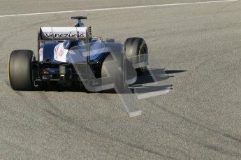 © 2012 Octane Photographic Ltd. Jerez Winter Test Day 2 - Wednesday 8th February 2012. Williams FW34 - Pastor Maldonado. Digital Ref :  0218lw1d5949