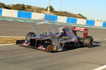 © 2012 Octane Photographic Ltd. Jerez Winter Test Day 2 - Wednesday 8th February 2012. Toro Rosso STR7 - Daniel Ricciardo. Digital Ref : 0218lw7d3494