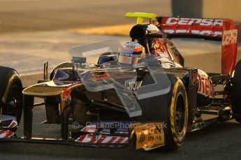 © 2012 Octane Photographic Ltd. Jerez Winter Test Day 3 - Thursday 9th February 2012. Toro Rosso STR7 - Jean-Eric Vergne. Digital Ref : 0219lw1d6265