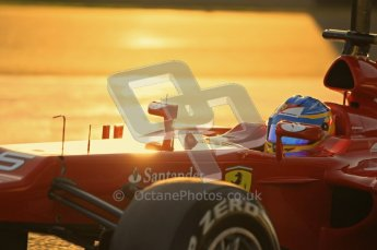 © 2012 Octane Photographic Ltd. Jerez Winter Test Day 3 - Thursday 9th February 2012. Ferrari F2012 - Fernando Alonso. Digital Ref : 0219lw1d6280
