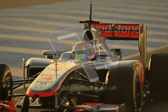 © 2012 Octane Photographic Ltd. Jerez Winter Test Day 3 - Thursday 9th February 2012. McLaren MP4/27 - Lewis Hamilton. Digital Ref : 0219lw1d6324