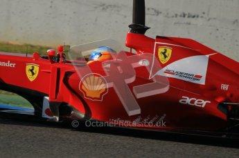 © 2012 Octane Photographic Ltd. Jerez Winter Test Day 3 - Thursday 9th February 2012. Ferrari F2012 - Fernando Alonso. Digital Ref : 0219lw1d6712