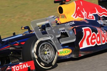 © 2012 Octane Photographic Ltd. Jerez Winter Test Day 3 - Thursday 9th February 2012. Red Bull RB8 - Sebastian Vettel. Digital Ref : 0219lw1d7031