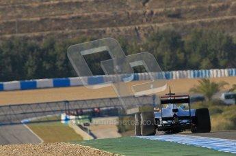© 2012 Octane Photographic Ltd. Jerez Winter Test Day 3 - Thursday 9th February 2012. McLaren MP4/27 - Lewis Hamilton. Digital Ref : 0219lw1d7344