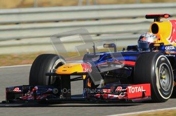 © 2012 Octane Photographic Ltd. Jerez Winter Test Day 3 - Thursday 9th February 2012. Red Bull RB8 - Sebastian Vettel. Digital Ref : 0219lw1d7618