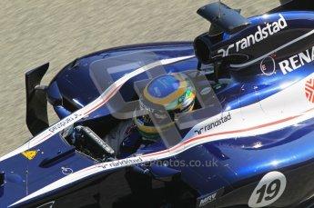 © 2012 Octane Photographic Ltd. Jerez Winter Test Day 3 - Thursday 9th February 2012. Williams FW34 - Bruno Senna. Digital Ref : 0219lw1d7710