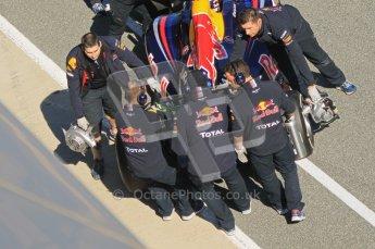 © 2012 Octane Photographic Ltd. Jerez Winter Test Day 3 - Thursday 9th February 2012. Red Bull RB8 - Sebastian Vettel. Digital Ref : 0219lw1d7802