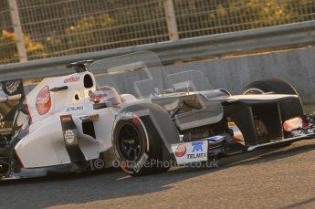 © 2012 Octane Photographic Ltd. Jerez Winter Test Day 4 - Friday 10th February 2012. Sauber C31 - Kamui Kobayashi. Digital Ref :  0221lw1d8118