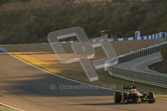 © 2012 Octane Photographic Ltd. Jerez Winter Test Day 4 - Friday 10th February 2012. Caterham CT01 - Jarno Trulli. Digital Ref :  0221lw1d8161